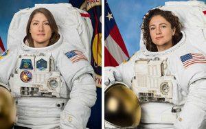 Mujeres astronautas hacen historia