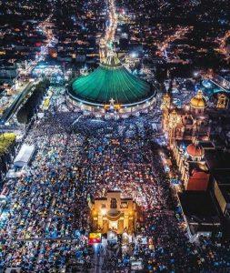 Se desborda el fervor guadalupano en México