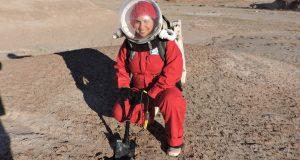Carmen Félix, la primera astronauta análoga mexicana
